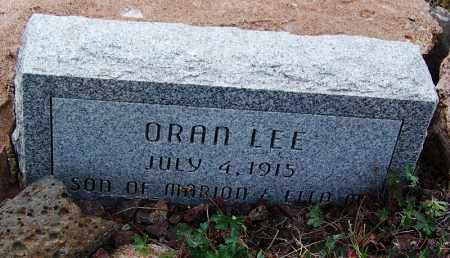 LEE, ORAN - Apache County, Arizona   ORAN LEE - Arizona Gravestone Photos