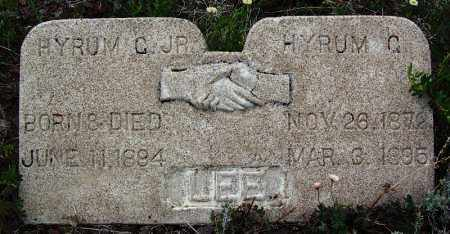 LEE, JR, HYRUM G - Apache County, Arizona | HYRUM G LEE, JR - Arizona Gravestone Photos