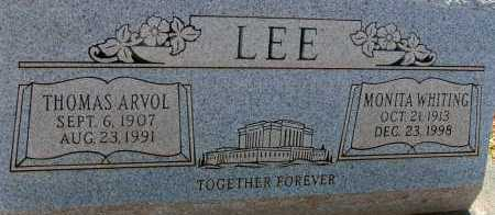 LEE, MONITA - Apache County, Arizona | MONITA LEE - Arizona Gravestone Photos