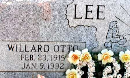 LEE, WILLARD OTTO - Apache County, Arizona | WILLARD OTTO LEE - Arizona Gravestone Photos