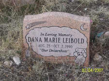 LEIBOLD, DANA MARIE - Apache County, Arizona | DANA MARIE LEIBOLD - Arizona Gravestone Photos