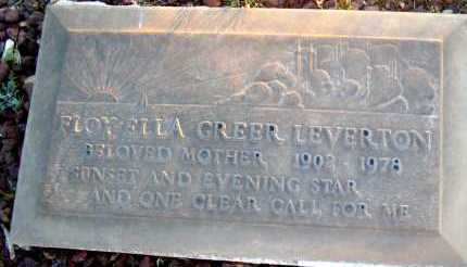 LEVERTON, FLOY ELLA - Apache County, Arizona | FLOY ELLA LEVERTON - Arizona Gravestone Photos