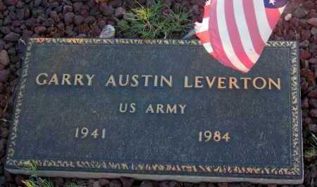 LEVERTON, GARRY AUSTIN - Apache County, Arizona | GARRY AUSTIN LEVERTON - Arizona Gravestone Photos