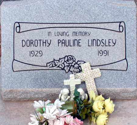 LINDSLEY, DOROTHY PAULINE - Apache County, Arizona | DOROTHY PAULINE LINDSLEY - Arizona Gravestone Photos