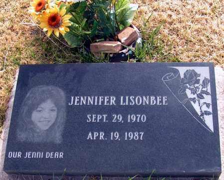 LISONBEE, JENNIFER - Apache County, Arizona | JENNIFER LISONBEE - Arizona Gravestone Photos