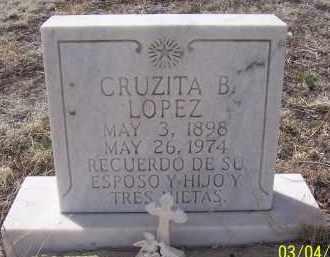 LOPEZ, CRUZITA B. - Apache County, Arizona | CRUZITA B. LOPEZ - Arizona Gravestone Photos