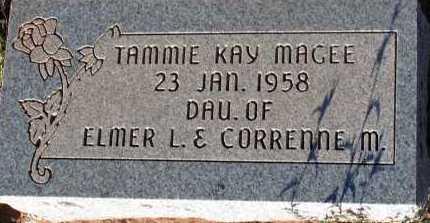 MAGEE, TAMMIE KAY - Apache County, Arizona | TAMMIE KAY MAGEE - Arizona Gravestone Photos