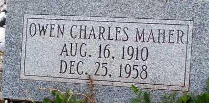 MAHER, OWEN CHARLES - Apache County, Arizona | OWEN CHARLES MAHER - Arizona Gravestone Photos