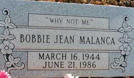 MALANCA, BOBBIE JEAN - Apache County, Arizona | BOBBIE JEAN MALANCA - Arizona Gravestone Photos