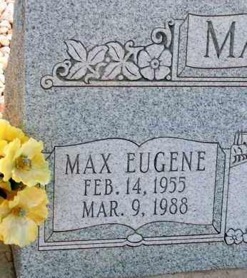 MANGUM, MAX EUGNE - Apache County, Arizona | MAX EUGNE MANGUM - Arizona Gravestone Photos