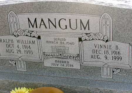 MANGUM, RALPH WILLIAM - Apache County, Arizona | RALPH WILLIAM MANGUM - Arizona Gravestone Photos