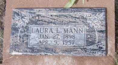 MANN, LAURA L. - Apache County, Arizona   LAURA L. MANN - Arizona Gravestone Photos