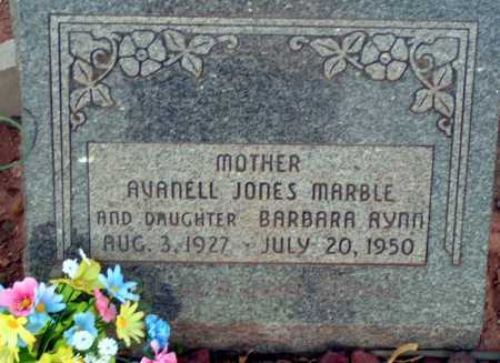 JONES MARBLE, AVANELL - Apache County, Arizona | AVANELL JONES MARBLE - Arizona Gravestone Photos
