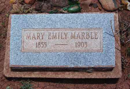 MARBLE, MARY EMILY - Apache County, Arizona | MARY EMILY MARBLE - Arizona Gravestone Photos