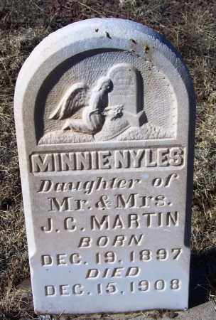 MARTIN, MINNIE NYLES - Apache County, Arizona | MINNIE NYLES MARTIN - Arizona Gravestone Photos