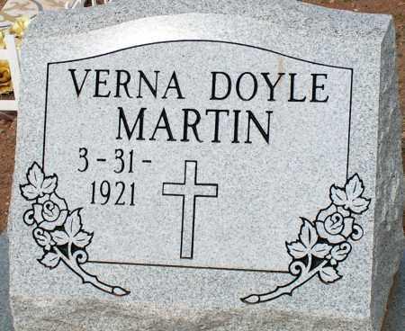 DOYLE MARTIN, VERNA - Apache County, Arizona | VERNA DOYLE MARTIN - Arizona Gravestone Photos