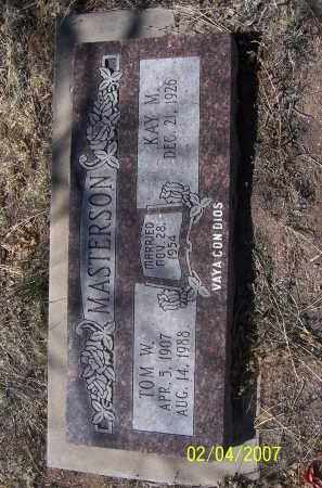 MASTERSON, KAY M. - Apache County, Arizona | KAY M. MASTERSON - Arizona Gravestone Photos