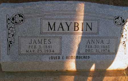 MAYBIN, ANNA J. - Apache County, Arizona   ANNA J. MAYBIN - Arizona Gravestone Photos