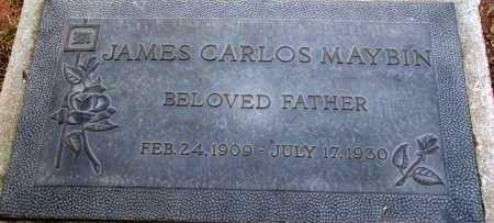 MAYBIN, JAMES CARLOS - Apache County, Arizona | JAMES CARLOS MAYBIN - Arizona Gravestone Photos