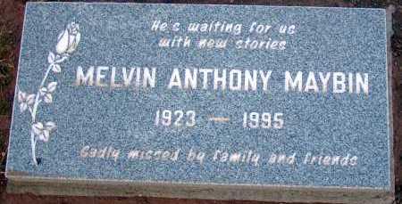 MAYBIN, MELVIN ANTHONY - Apache County, Arizona | MELVIN ANTHONY MAYBIN - Arizona Gravestone Photos