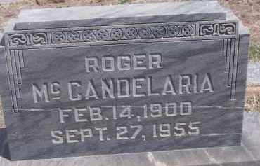 MC CANDELARIA, ROGER - Apache County, Arizona   ROGER MC CANDELARIA - Arizona Gravestone Photos