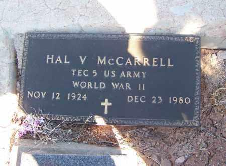 MCCARRELL, HAL V - Apache County, Arizona | HAL V MCCARRELL - Arizona Gravestone Photos