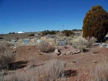 *MCCARRELL MEMORIAL, CEMETERY OVERVIEW - Apache County, Arizona | CEMETERY OVERVIEW *MCCARRELL MEMORIAL - Arizona Gravestone Photos