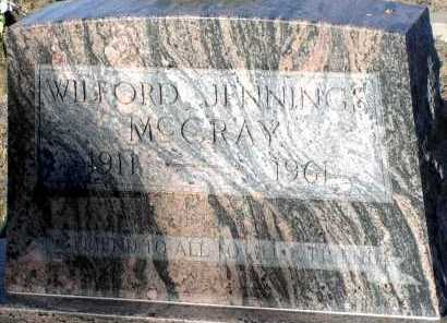 MCCRAY, WILFORD JENNINGS - Apache County, Arizona   WILFORD JENNINGS MCCRAY - Arizona Gravestone Photos