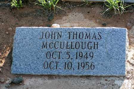 MCCULLOUGH, JOHN THOMAS - Apache County, Arizona | JOHN THOMAS MCCULLOUGH - Arizona Gravestone Photos