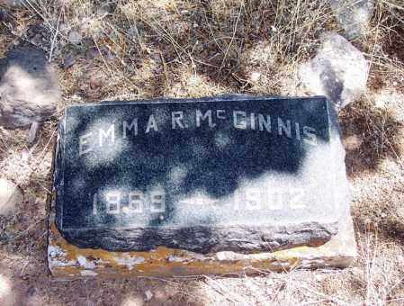 MCGINNIS, EMMA R - Apache County, Arizona | EMMA R MCGINNIS - Arizona Gravestone Photos