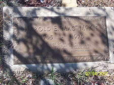 "MCKIE, HARLOD E. ""MAC"" - Apache County, Arizona 