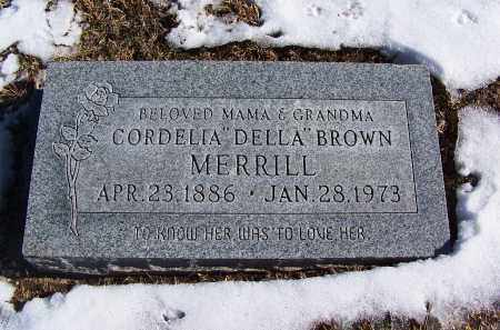 "MERRILL, CORDELIA ""DELLA"" - Apache County, Arizona 