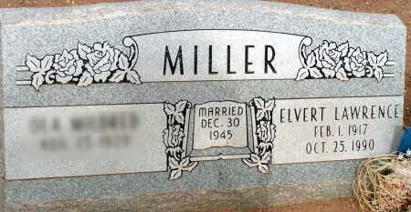 MILLER, ELVERT LAWRENCE - Apache County, Arizona | ELVERT LAWRENCE MILLER - Arizona Gravestone Photos