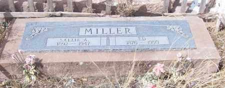MILLER, SALLIE A. - Apache County, Arizona | SALLIE A. MILLER - Arizona Gravestone Photos