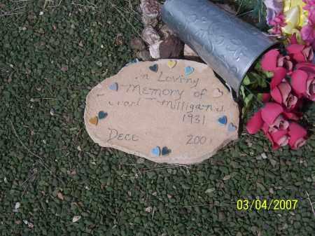 MILLIGAN, UNKNOWN - Apache County, Arizona   UNKNOWN MILLIGAN - Arizona Gravestone Photos