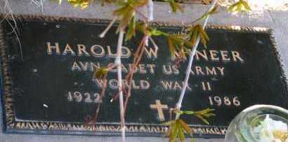 MINEER, HAROLD W. - Apache County, Arizona | HAROLD W. MINEER - Arizona Gravestone Photos