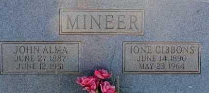 MINEER, IONE - Apache County, Arizona | IONE MINEER - Arizona Gravestone Photos