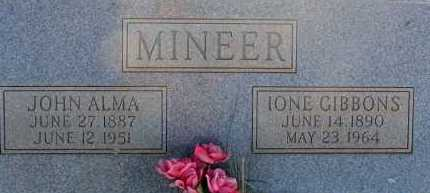 MINEER, IONE - Apache County, Arizona | IONE MINEER - Arizona Gravestone Photos