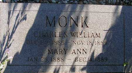 MONK, MARY ANN - Apache County, Arizona | MARY ANN MONK - Arizona Gravestone Photos