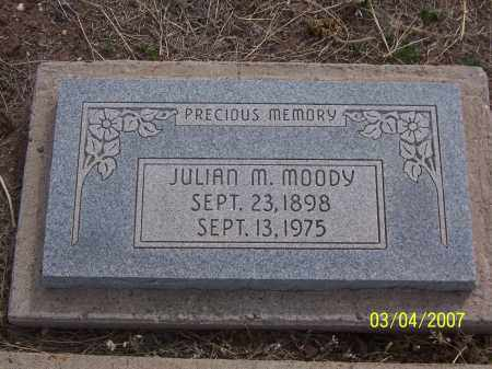 MOODY, JULIAN M. - Apache County, Arizona | JULIAN M. MOODY - Arizona Gravestone Photos