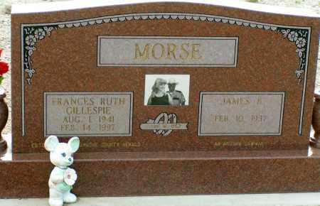 MORSE, FRANCES RUTH - Apache County, Arizona | FRANCES RUTH MORSE - Arizona Gravestone Photos