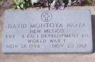 MOYA, DAVID MONTOYA - Apache County, Arizona | DAVID MONTOYA MOYA - Arizona Gravestone Photos