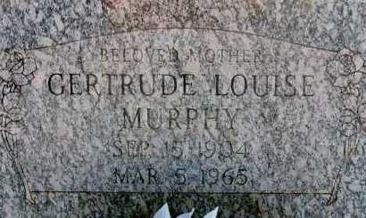 MURPHY, GERTRUDE LOUISE - Apache County, Arizona | GERTRUDE LOUISE MURPHY - Arizona Gravestone Photos