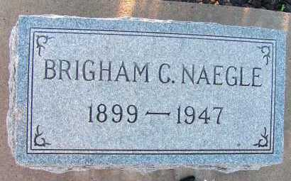 NAEGLE, BRIGHAM C. - Apache County, Arizona | BRIGHAM C. NAEGLE - Arizona Gravestone Photos