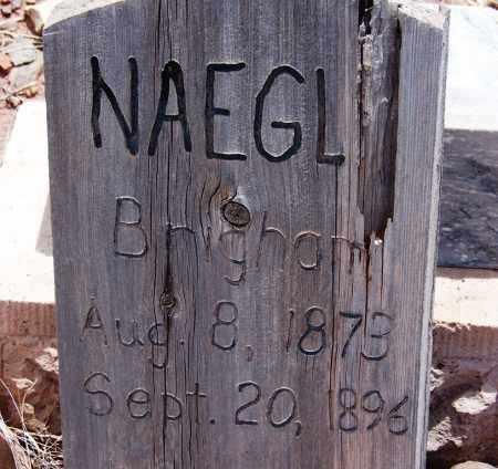 NAEGLE, BRIGHAM - Apache County, Arizona   BRIGHAM NAEGLE - Arizona Gravestone Photos