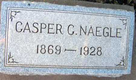 NAEGLE, CASPER C. - Apache County, Arizona | CASPER C. NAEGLE - Arizona Gravestone Photos