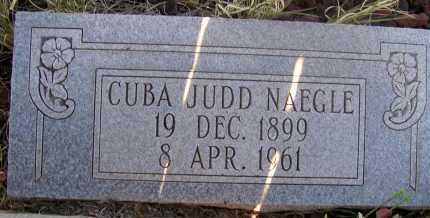 NAEGLE, CUBA JUDD - Apache County, Arizona | CUBA JUDD NAEGLE - Arizona Gravestone Photos