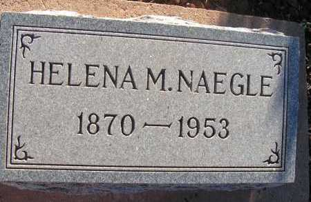 NAEGLE, HELENA M. - Apache County, Arizona | HELENA M. NAEGLE - Arizona Gravestone Photos