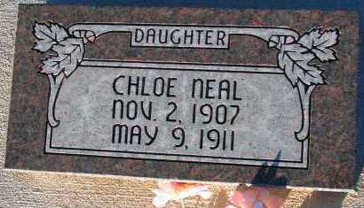 NEAL, CHLOE - Apache County, Arizona | CHLOE NEAL - Arizona Gravestone Photos