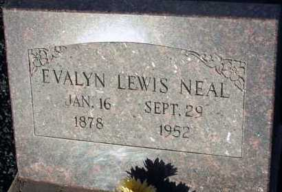 NEAL, EVALYN LEWIS - Apache County, Arizona | EVALYN LEWIS NEAL - Arizona Gravestone Photos
